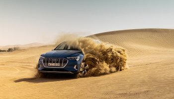 Audi e-tron prošlo pouštní zatěžkávací zkouškou