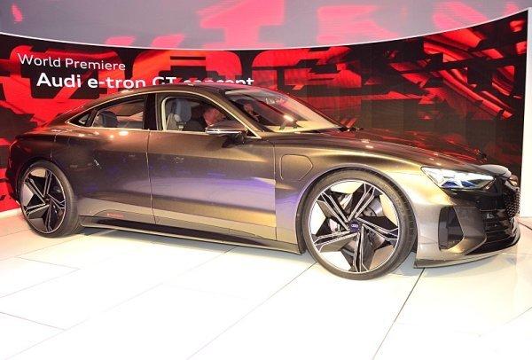 Audi e-tron GT concept z LA