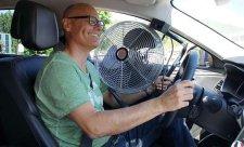 Horko zvyšuje únavu řidiče