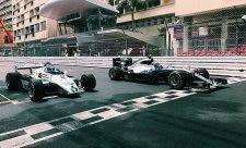 Rosbergové se projeli po monacké trati