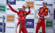 Schumacher letos potřetí na pódiu