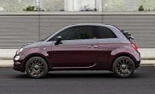 Fiat 500 Collezione s barvami podzimu
