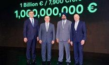 Miliarda eur na projekt India 2.0