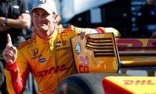 Poslední pole position letošní sezony získal Hunter-Reay
