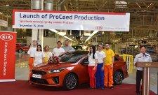 Kia ProCeed ve výrobě