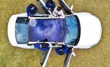 Solární dobíjení automobilů