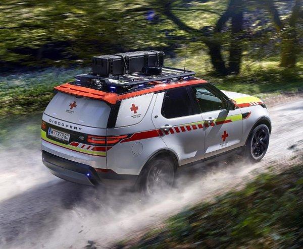 Land Rover Discovery bude zachraňovat životy