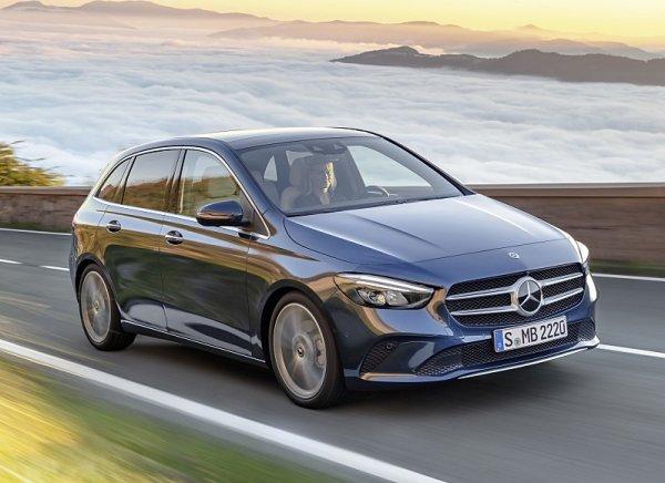 Mercedes-Benz třídy B už ve výrobě