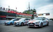 Hyundai dodal provozní vozy pro Masarykův okruh