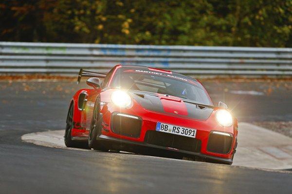 Porsche drží rekord na Severní smyčce