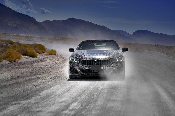 BMW testuje v Údolí smrti