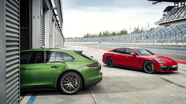 Porsche Panamera GTS a Panamera GTS Sport Turismo