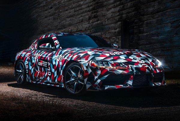 Toyota Supra před premiérou