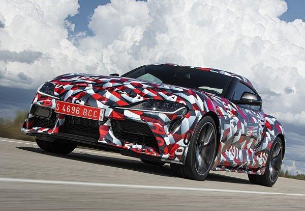Toyota Supra má být levnější než BMW Z4