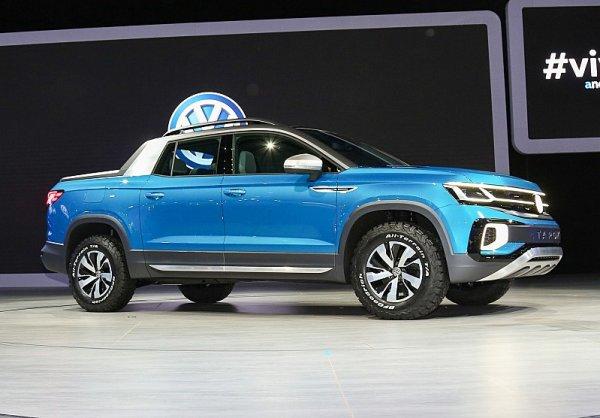 Volkswagen Tarok Concept se představil v Brazílii