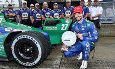 Rossi získal na osychající trati pole position