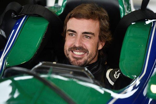 Alonsovi se test vozu IndyCar líbil