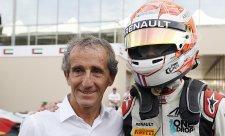 Chytrý fešák Hubert si pojistil titul v GP3