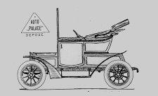 Auto Palace měl i vlastní automobil