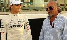 Otec a syn Rosbergovi společně v akci