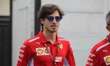 Giovinazzi byl z rozhodnutí Ferrari nešťastný