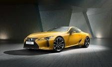 Lexus LC se převlékl do žluté