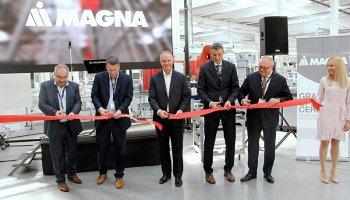 Magna otevřela nový závod v Chomutově