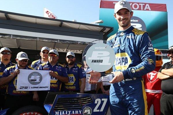 Druhé pole position v kariéře pro Rossiho