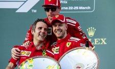 Vettel je smutný, že přichází o nejlepšího kolegu