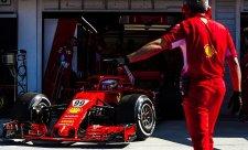 Giovinazzi byl rychlejší než Vettel