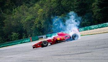Ferrari si přijelo hrát do Brna