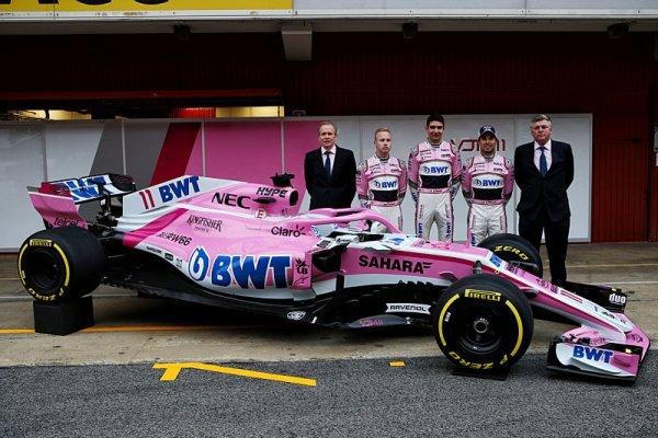 Jméno Force India zmizelo z F1
