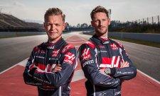 V Haasu zůstávají i pro příští rok Magnussen a Grosjean