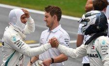 Lauda: Hamilton a Bottas zůstávají v Mercedesu