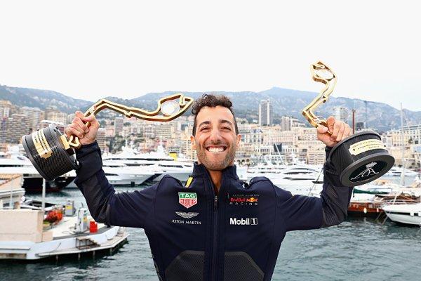 Jak se slaví vítězství v Monaku