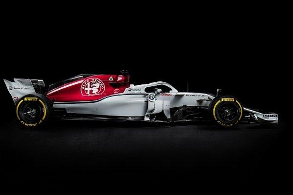 Nový Sauber s nosními dírkami