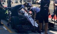 Williams a Force India už s novými předními křídly