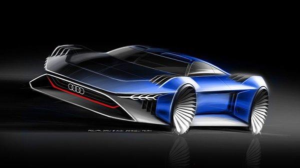 Audi navrhlo elektromobil pro animovaný film