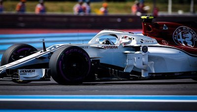 Leclerc se skvěle bavil