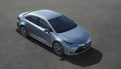 Nová Toyota Corolla jako sedan