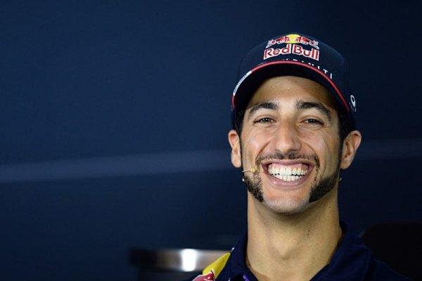 Ricciardo: Horner to tak nemyslel
