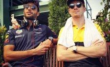 Ricciardo poprvé v overalu Renaultu