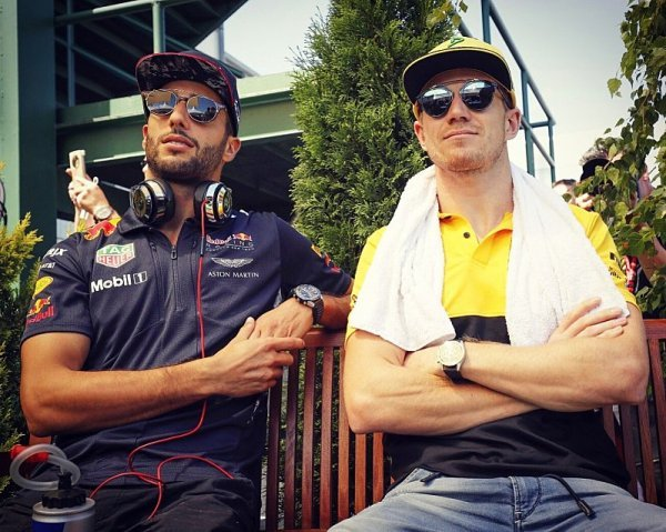 Ricciardovi bude po Hülkenbergovi smutno