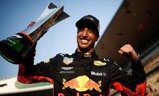 Ricciardo jde za nejvyšším cílem