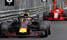 Ricciardo se trápil s vozem, ale uhájil vítězství