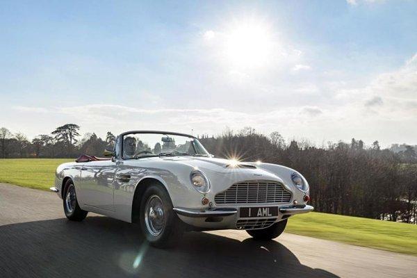 Aston Martin předělává veterány na elektromobily