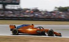 Alonso musí v sobotu jezdit jinou ligu