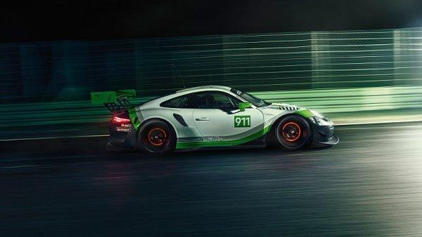 Přichází Porsche 911 GT3 R (2019)
