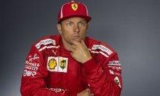Räikkönen se na tiskovce změnil ve sfingu