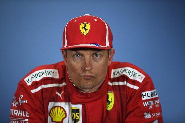 Budu to mít blízko do práce, těší se Räikkönen